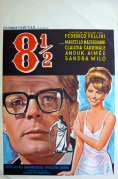 8½ Belgian Poster