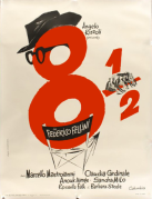 8½ French Poster