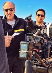 Werner on Set