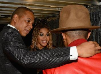 With Jay-Z & Beyonce