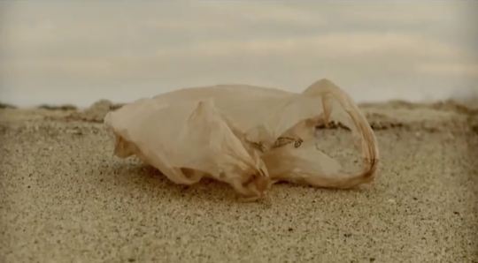 Futurestates plastic bag