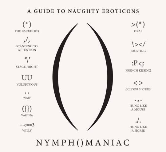 A guide to naughty eroticons