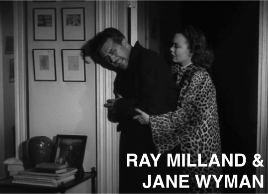 ray milland & jane wyman