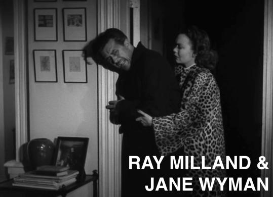 ray milland & jane wyman